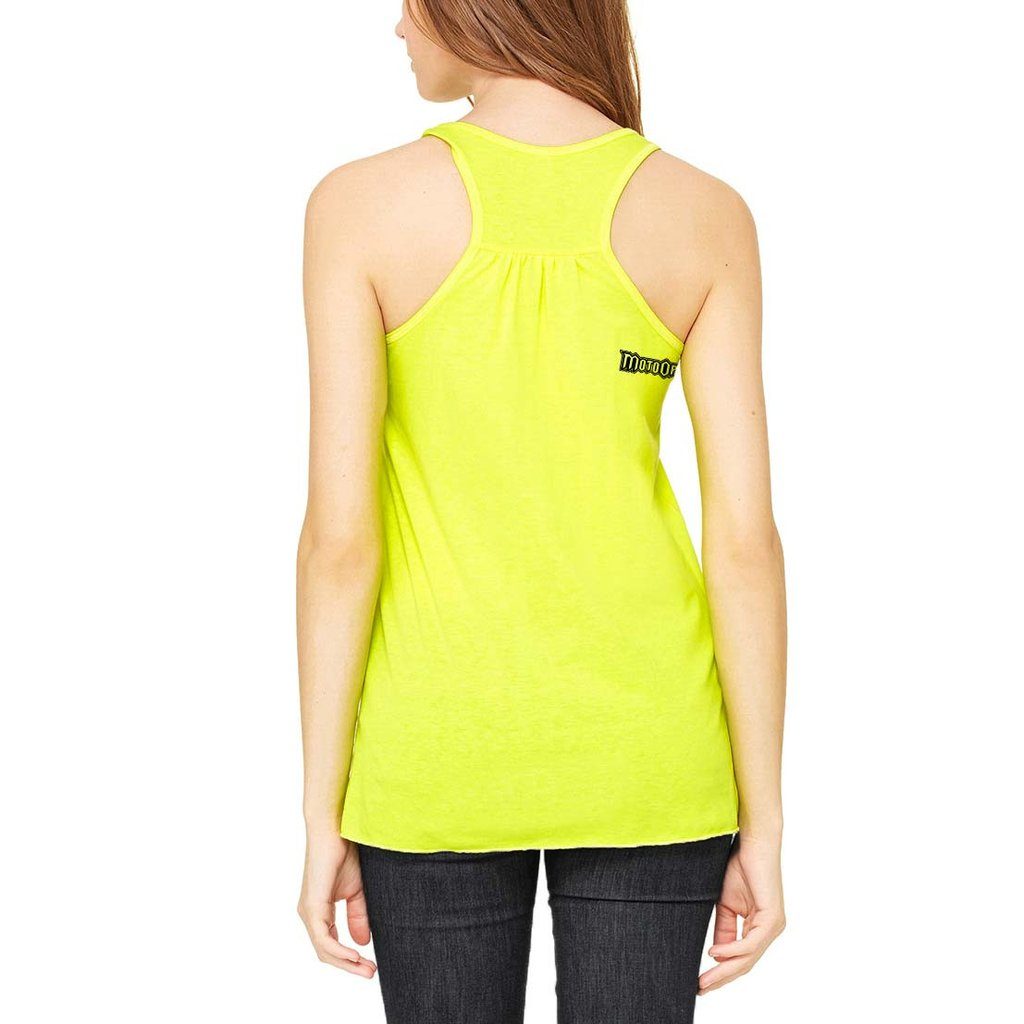 Women's Moto and Mascara Tank