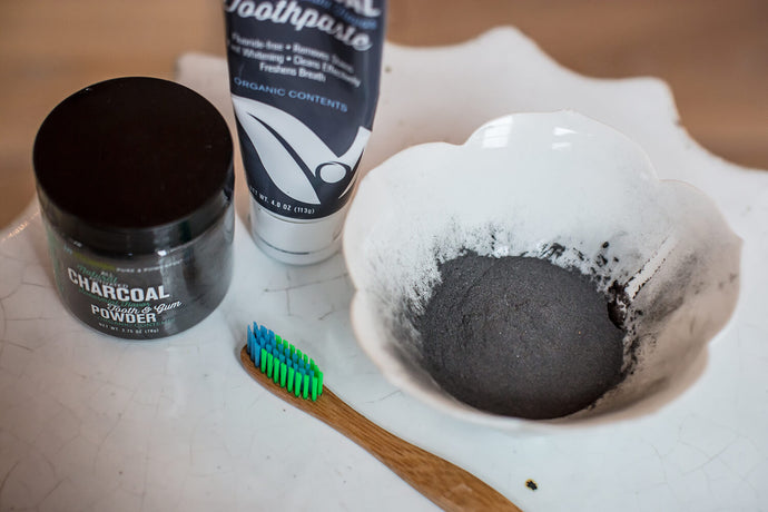 Lighten Up...A Whiter Brighter Smile, No Toxins Required.....Queue The Charcoal!