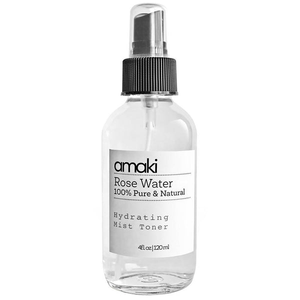 Amaki 9 Rose Water Hydrating Mist Toner