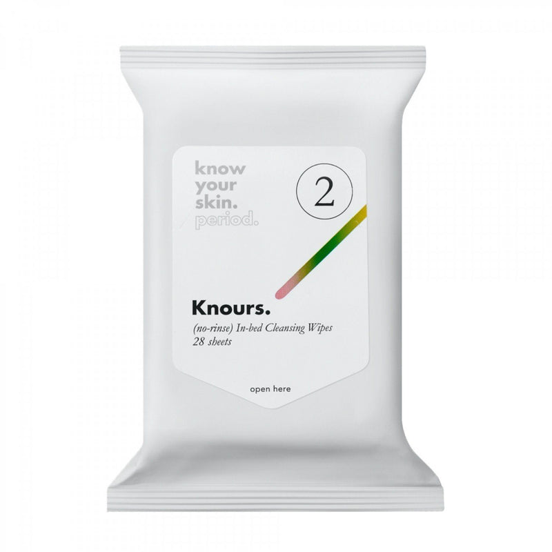 Knours In-bed Cleansing Wipes