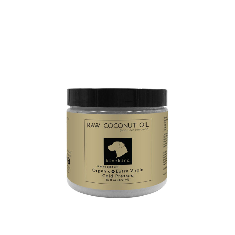 K+K Raw Coconut Oil for Pets