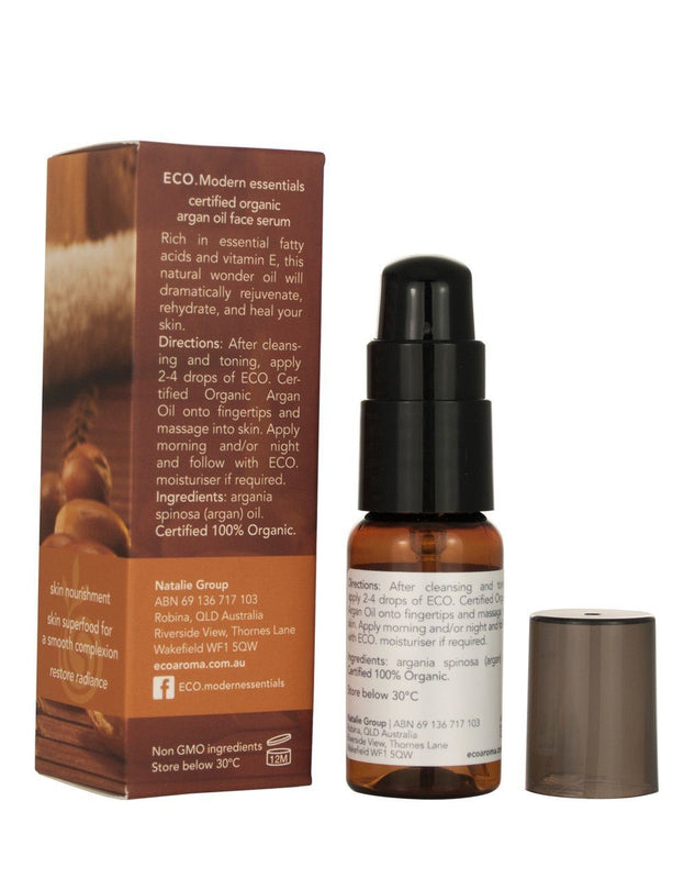 Eco Modern Essentials Certified Organic Argan Face Oil - Switch 2 Pure