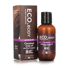 Eco Modern Essentials Certified Coconut Body oil 3.21 fl oz.