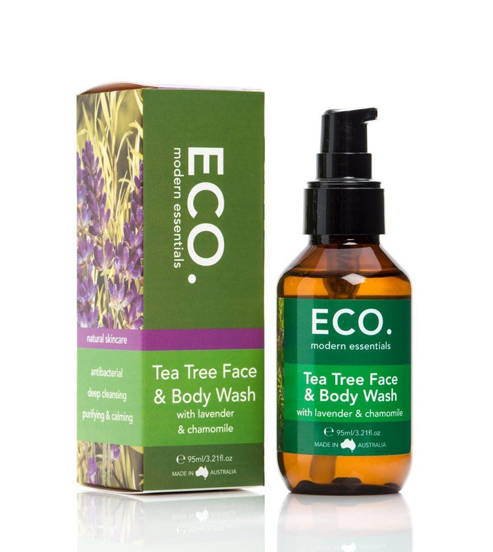 Eco Modern Essentials Tea Tree Face & Body Wash - Switch 2 Pure
