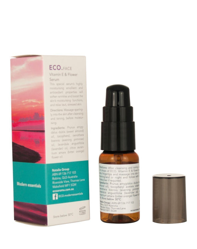 Eco Modern Essentials Vitamin E & Flower Serum - Switch 2 Pure