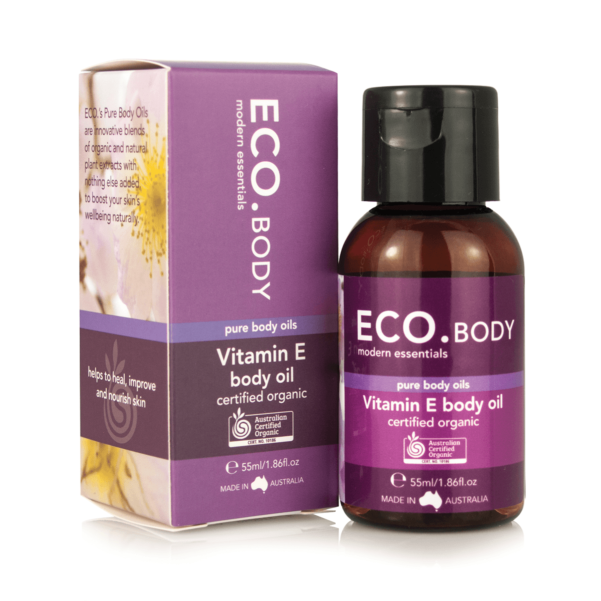Eco Modern Essentials Certified Organic Vitamin E Pure Body Oil - Switch 2 Pure