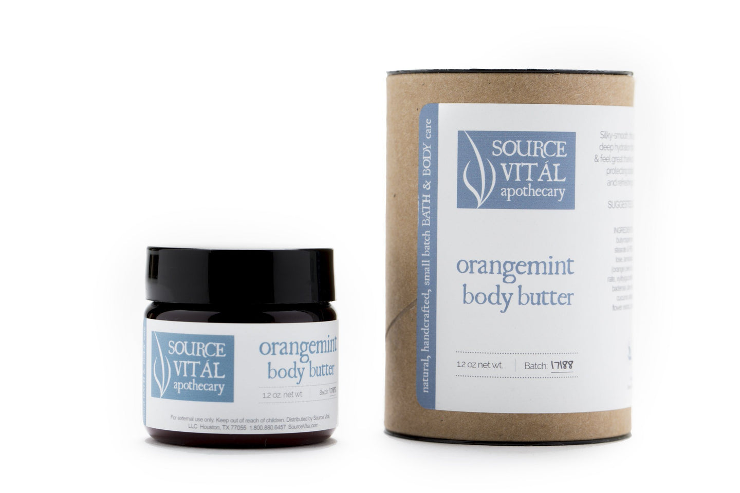 Source Vital Orangemint Body Butter - Switch 2 Pure