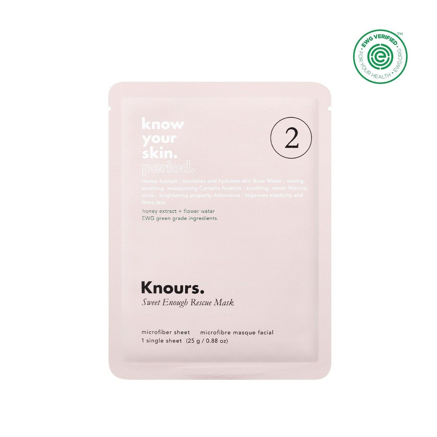 Knours Sweet Enough Rescue Mask