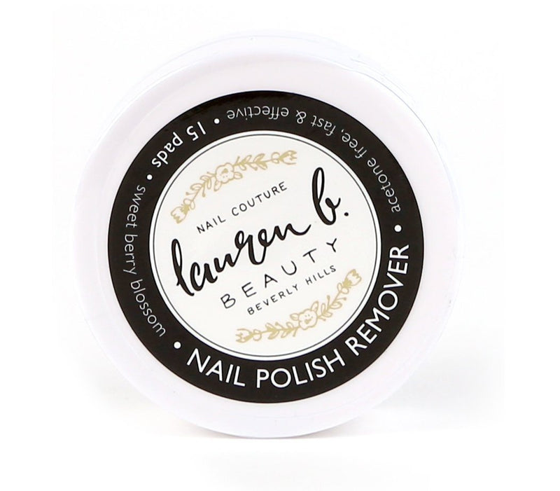 Lauren B. Nail Polish Remove Puck
