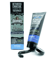 MyMagicMud Charcoal Whitening Toothpaste Tube