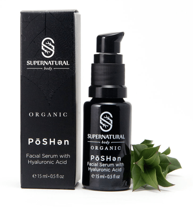 Supernatural Body | PōSHən Facial Serum with Hyaluronic Acid