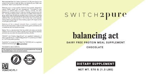 Switch 2 Pure Balancing Act Vegan Protein