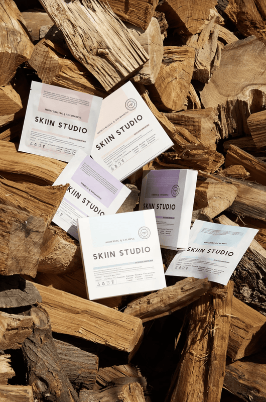 Skiin Studio Bio Cellulose Sheet Mask Set