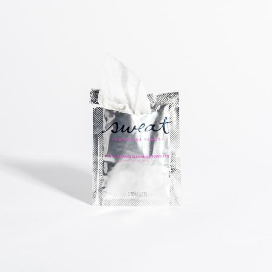 Sweat Cosmetics Cleansing Towelettes 30-pack