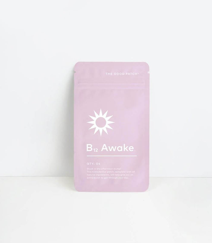 The Good Patch | B12 Awake Set (4 Patches in 1 pouch)
