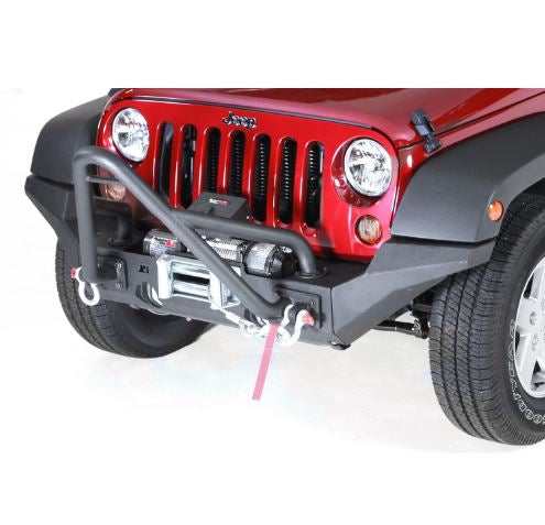 Rugged Ridge 11540.24 XHD High Clearance Bumper Ends; 07-17 Jeep Wrangler JK