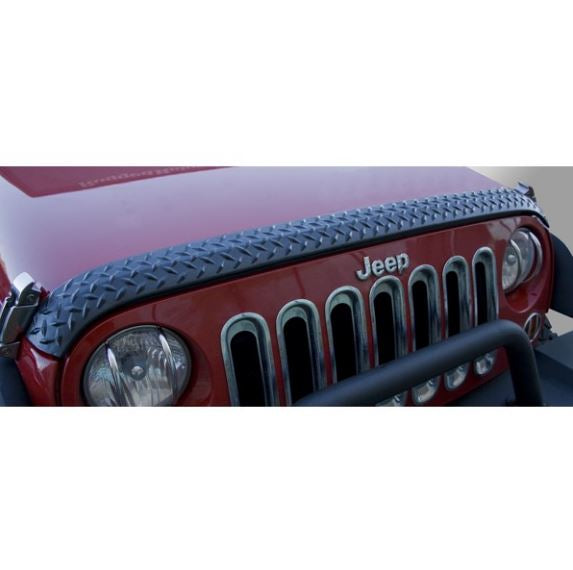 Rugged Ridge 11651.17 Hood Guard, Body Armor; 07-17 Jeep Wrangler JK