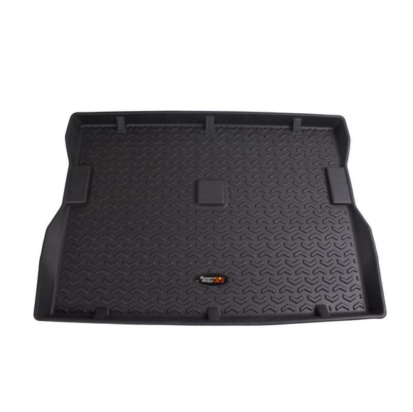 Rugged Ridge 12975.22 Cargo Liner, Black; 76-86 Jeep CJ7/87-95 Wrangler YJ