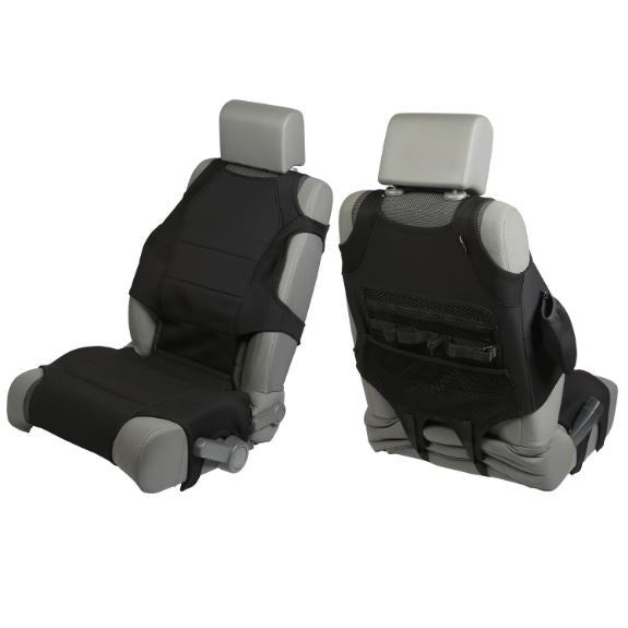 Rugged Ridge 13235.30 Neoprene Seat Protector Vests, Black; 07-17 Jeep Wrangler JK