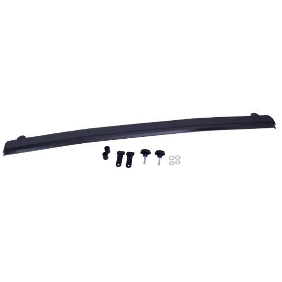 Rugged Ridge 13308.05 Front Windshield Header, Aluminum; 07-17 Jeep Wrangler JK