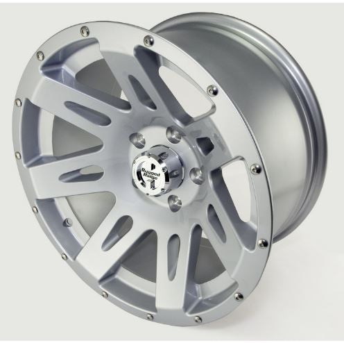 Rugged Ridge 15301.40 XHD Wheel, 17x9, Silver; 07-17 Jeep Wrangler JK