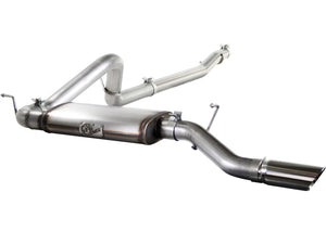 "aFe POWER 49-46211 MACH Force-Xp 3"" 409 Stainless Steel Cat-Back Exhaust System; JK 12-17 V6-3.6L 4DR"
