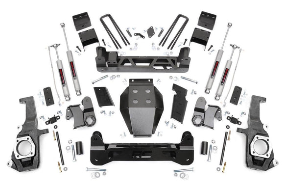 Rough Country 253X 7.5'' GM NTD Suspension Kit (11-18 2500HD/3500HD)