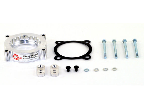 aFe POWER 46-33011 Silver Bullet Throttle Body Spacer; Ford F-150 Raptor 10-14 V8-6.2L