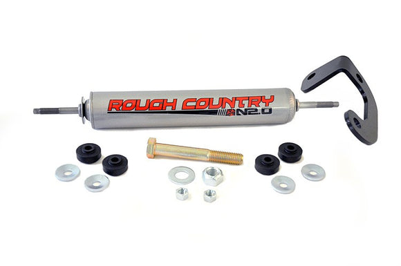 Rough Country Steering Stabilizer; GM Trucks 88-98