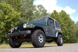 Rough Country PERF653 2.5IN Suspension Lift Kit; TJ 97-06