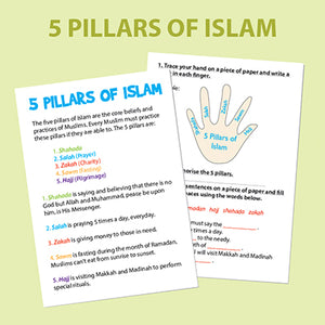 Holiday Islamic Activities for Kids
