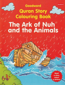 The Ark of Nuh and the Animals Colouring and Story Book