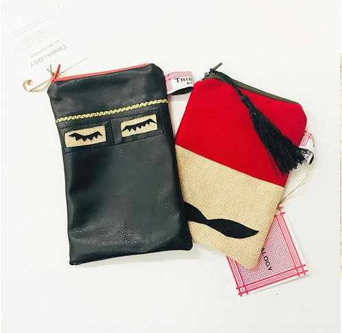 Arab Character Pouch