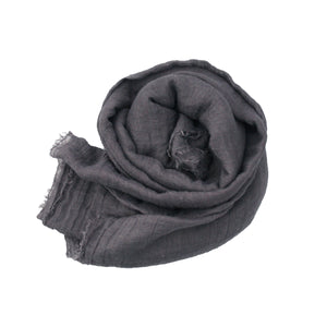 Crinkle Hijab - Dark Grey #7