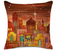 Islamic Decorative Cushion - Desert Night