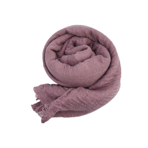 Crinkle Hijab - Dusty Purple #3