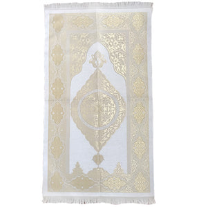 Gold & Cream Standard Prayer Mat