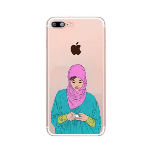Hijabi on Phone Case