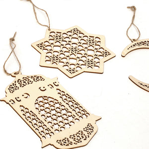 Islamic Wooden Hangings