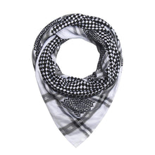 Traditional Keffiyeh Shemagh - Black & White