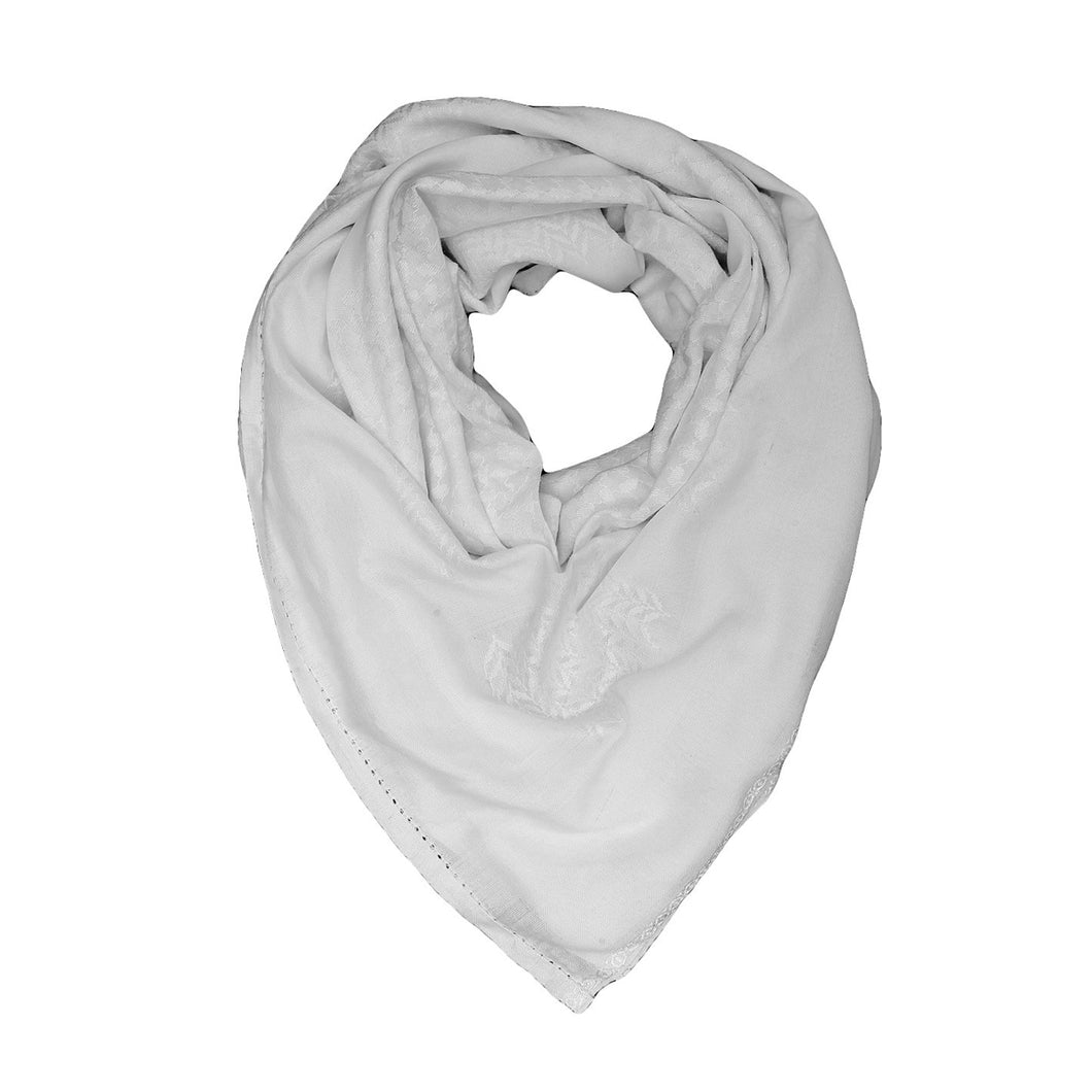 Traditional Keffiyeh Shemagh - White