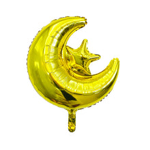 "Moon & Star 18"" Foil Balloon - Gold"