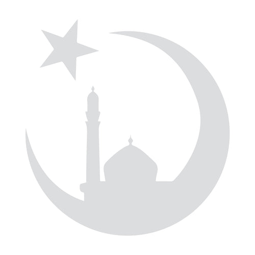 Silver Mosque Car/Wall Decal