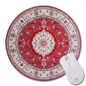 Oriental Rug Mouse Pad Round #1