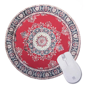 Oriental Rug Mouse Pad Round #2