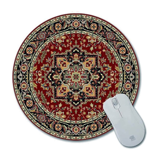 Oriental Rug Mouse Pad Round #3