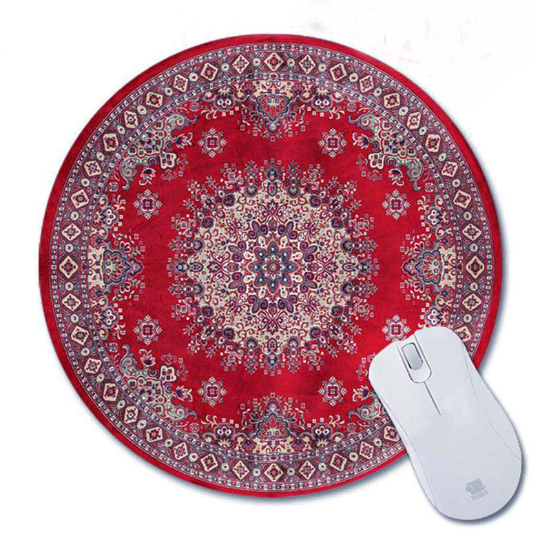 Oriental Rug Mouse Pad Round #5