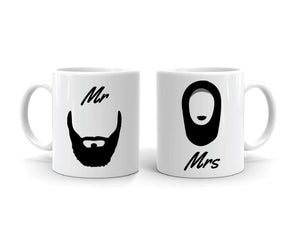 Couple Mug Set Mr & Mrs.