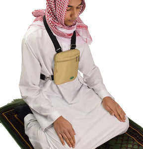 Hajj & Umrah Secure Side Bag & Neck Bag