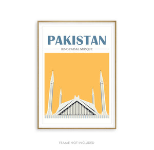 Mosque Illustration Pakistan
